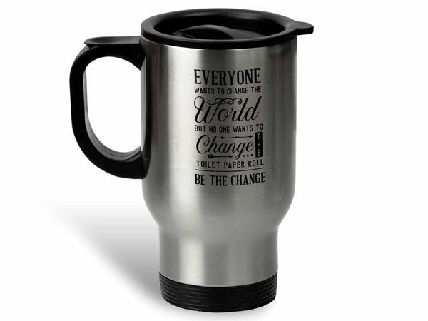 Toilet Paper Roll Coffee Mug