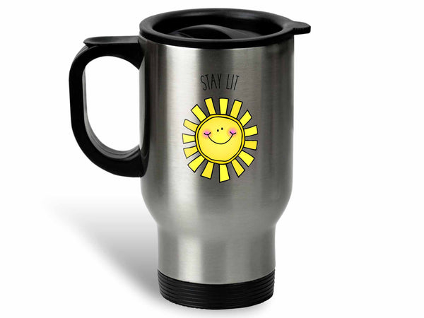Stay Lit Sun Coffee Mug