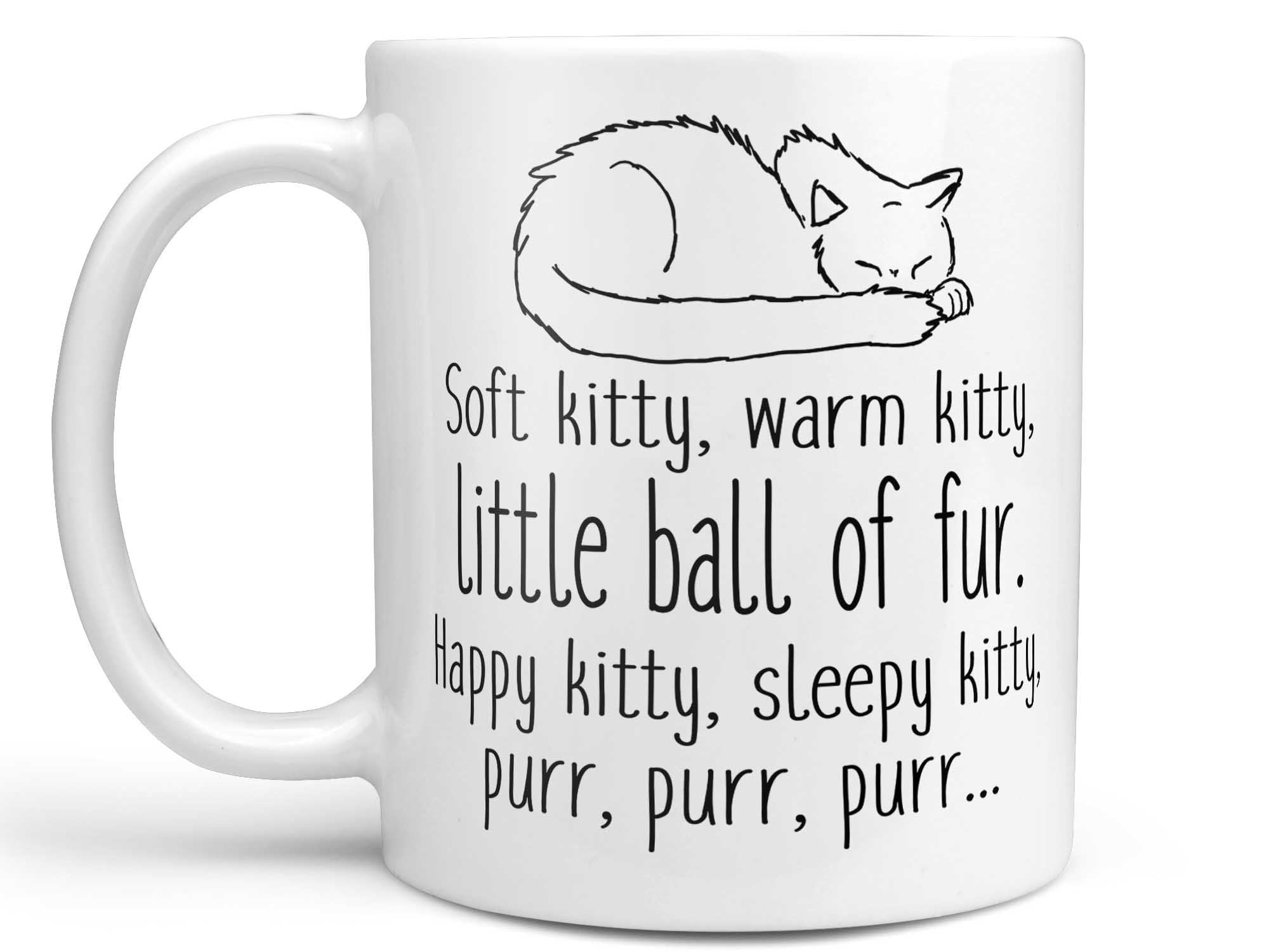 Soft Kitty Sleepy Kitty Coffee Mug,Coffee Mugs Never Lie,Coffee Mug