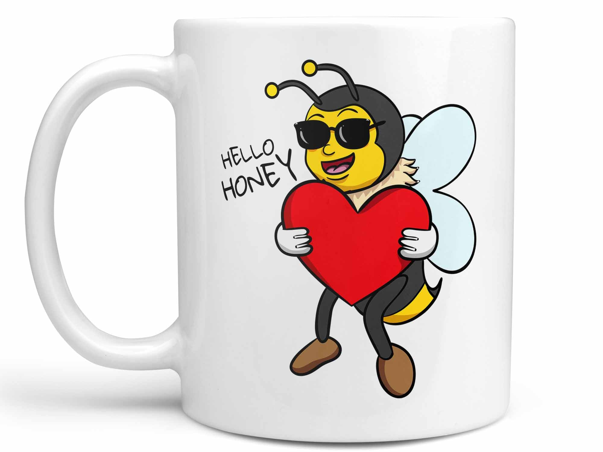 Hello Honey Bee Coffee Mug,Coffee Mugs Never Lie,