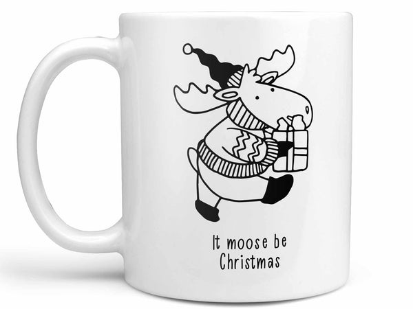 Moose Be Christmas Coffee Mug,Coffee Mugs Never Lie,Coffee Mug