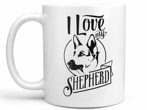 I Love My German Shepherd Coffee Mug,Coffee Mugs Never Lie,Coffee Mug