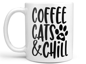 Coffee Cats and Chill Coffee Mug,Coffee Mugs Never Lie,Coffee Mug