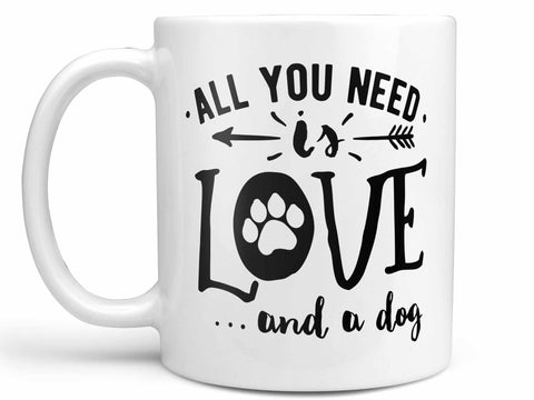Love and a Dog Coffee Mug,Coffee Mugs Never Lie,Coffee Mug