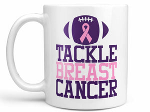 Tackle Breast Cancer Coffee Mug,Coffee Mugs Never Lie,Coffee Mug
