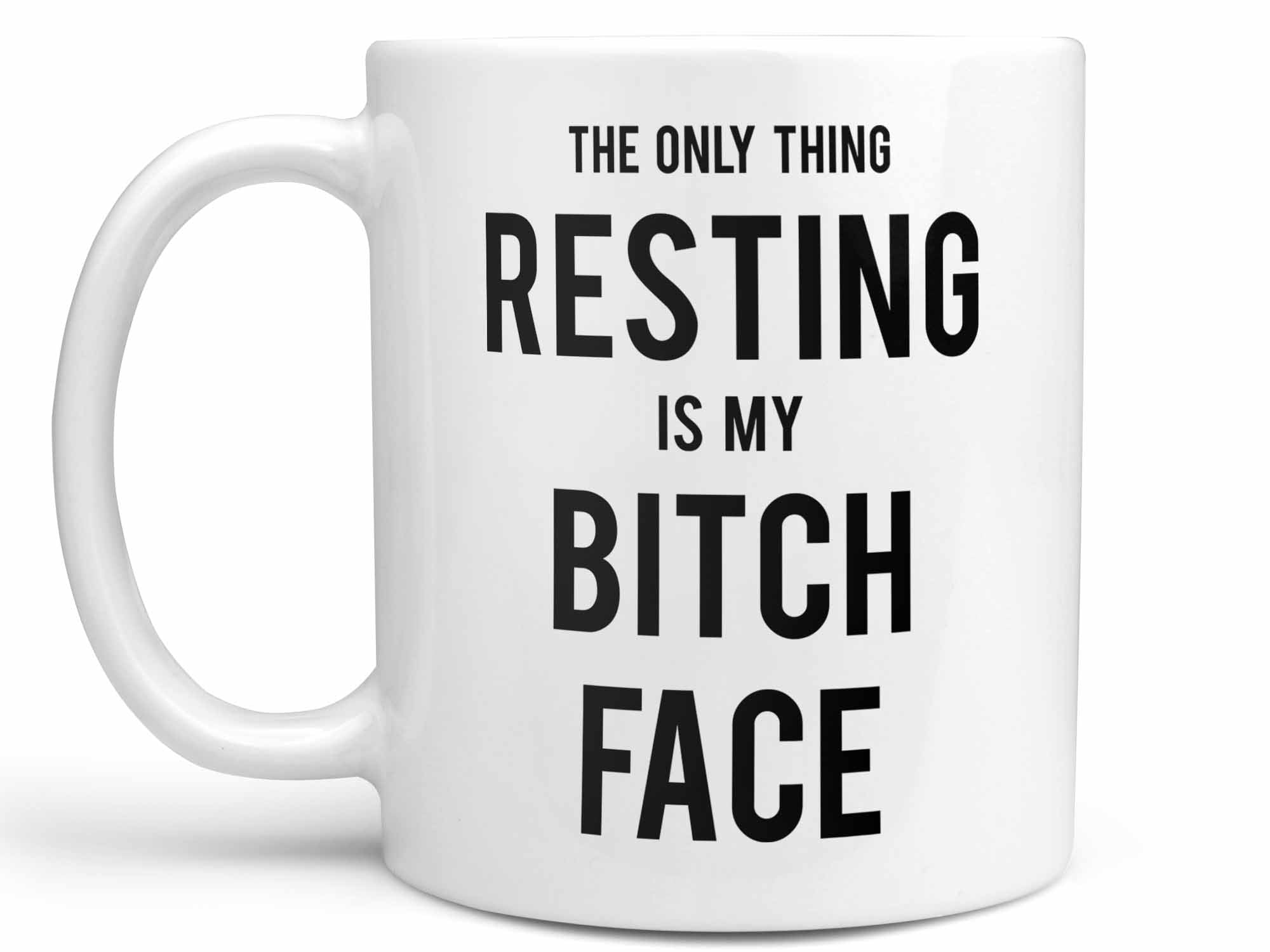 Find My Resting 11oz /& 15oz Mug Bitch Face A Cute Gift For Your Loved One