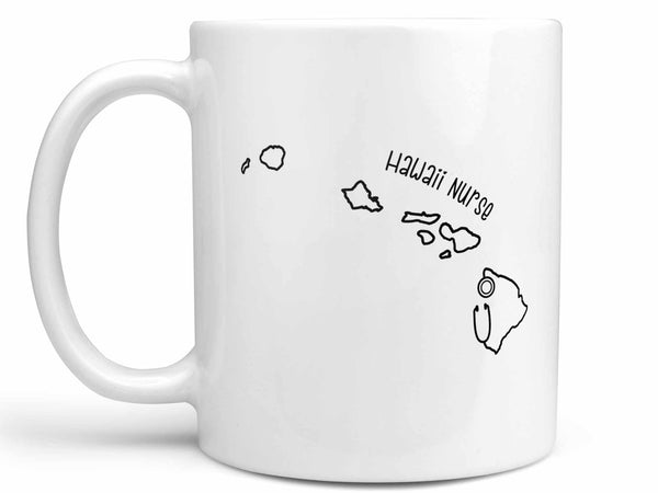 Hawaii Nurse Coffee Mug