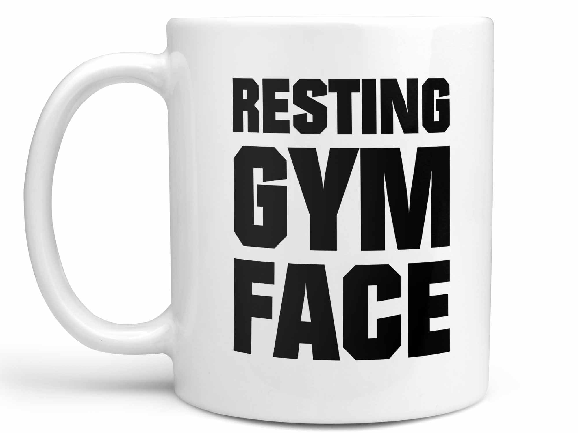 Resting Gym Face Coffee Mug,Coffee Mugs Never Lie,Coffee Mug