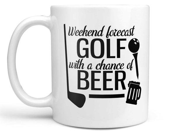 Golf Forecast Coffee Mug,Coffee Mugs Never Lie,Coffee Mug