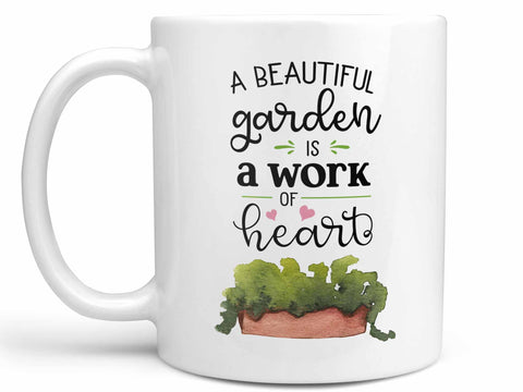 Gardening Work of Heart Coffee Mug