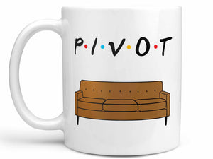 Pivot Couch Friends Coffee Mug,Coffee Mugs Never Lie,Coffee Mug