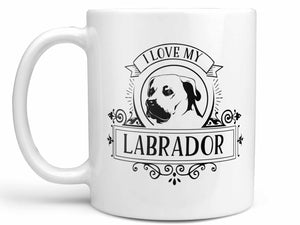 I Love My Labrador Coffee Mug,Coffee Mugs Never Lie,Coffee Mug