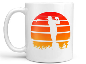 Vintage Sunset Golf Coffee Mug,Coffee Mugs Never Lie,Coffee Mug