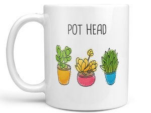 Pot Head Succulents Coffee Mug,Coffee Mugs Never Lie,Coffee Mug