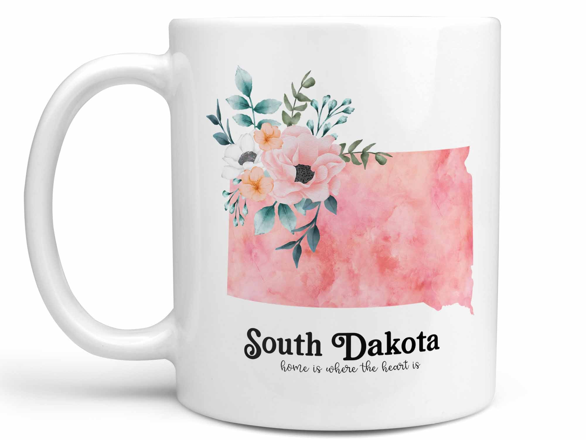 South Dakota Home Coffee Mug,Coffee Mugs Never Lie,Coffee Mug