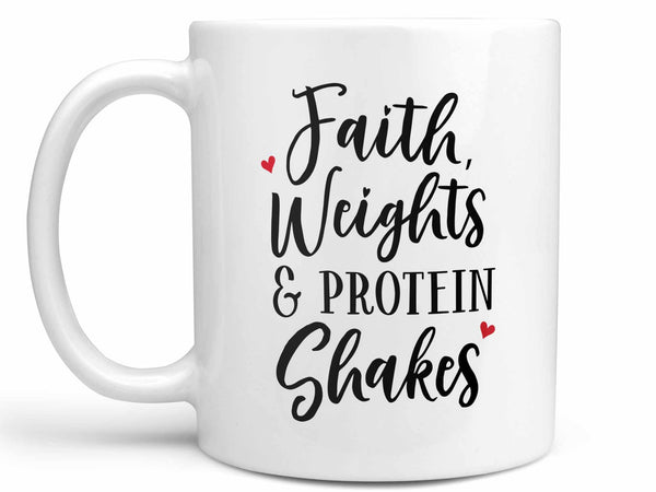 Faith Weights Shakes Coffee Mug,Coffee Mugs Never Lie,Coffee Mug