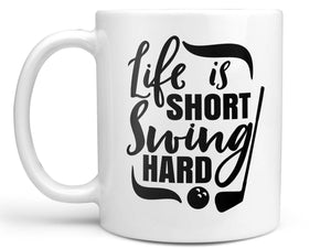 Swing Hard Golf Coffee Mug,Coffee Mugs Never Lie,Coffee Mug