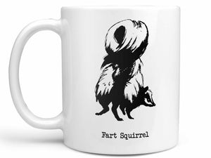 Fart Squirrel Skunk Coffee Mug,Coffee Mugs Never Lie,Coffee Mug