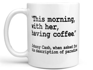 Johnny Cash Coffee Mug,Coffee Mugs Never Lie,Coffee Mug