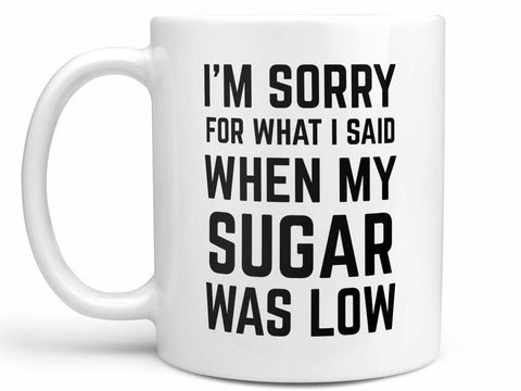 Low Sugar Diabetes Coffee Mug,Coffee Mugs Never Lie,Coffee Mug