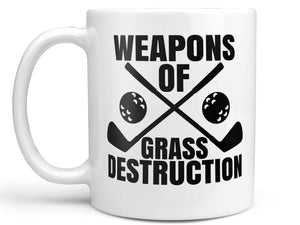 Grass Destruction Golf Coffee Mug,Coffee Mugs Never Lie,Coffee Mug