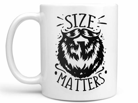 Beard Size Matters Coffee Mug,Coffee Mugs Never Lie,Coffee Mug
