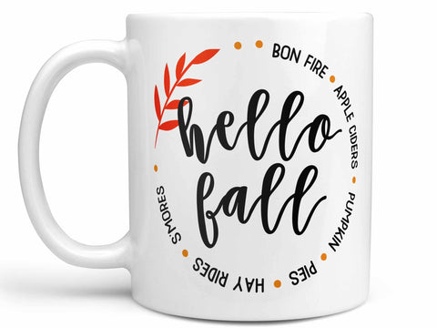 Hello Fall Coffee Mug,Coffee Mugs Never Lie,Coffee Mug