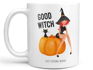 Good Witch Just Kidding Coffee Mug,Coffee Mugs Never Lie,Coffee Mug