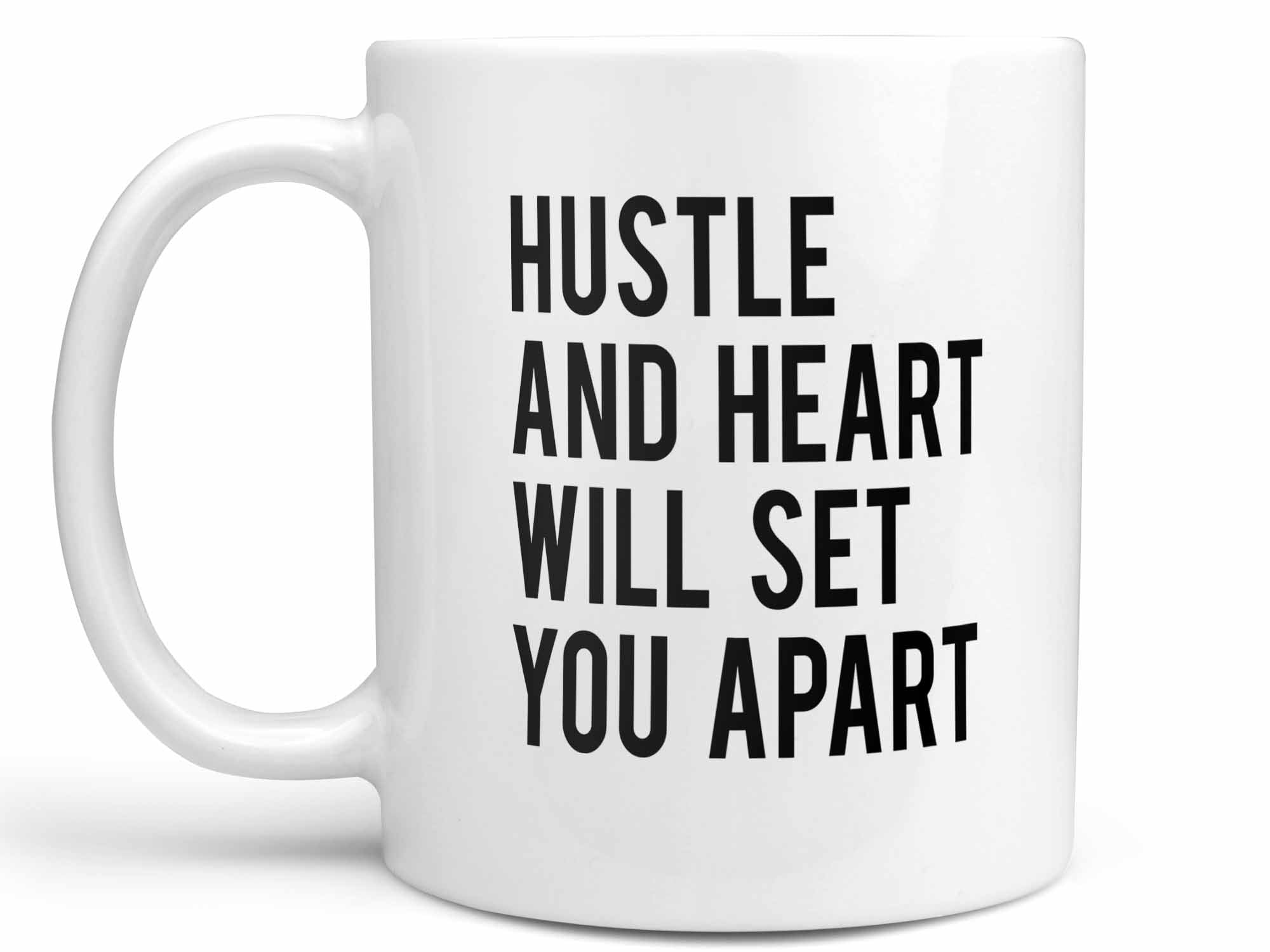 Hustle and Heart Coffee Mug