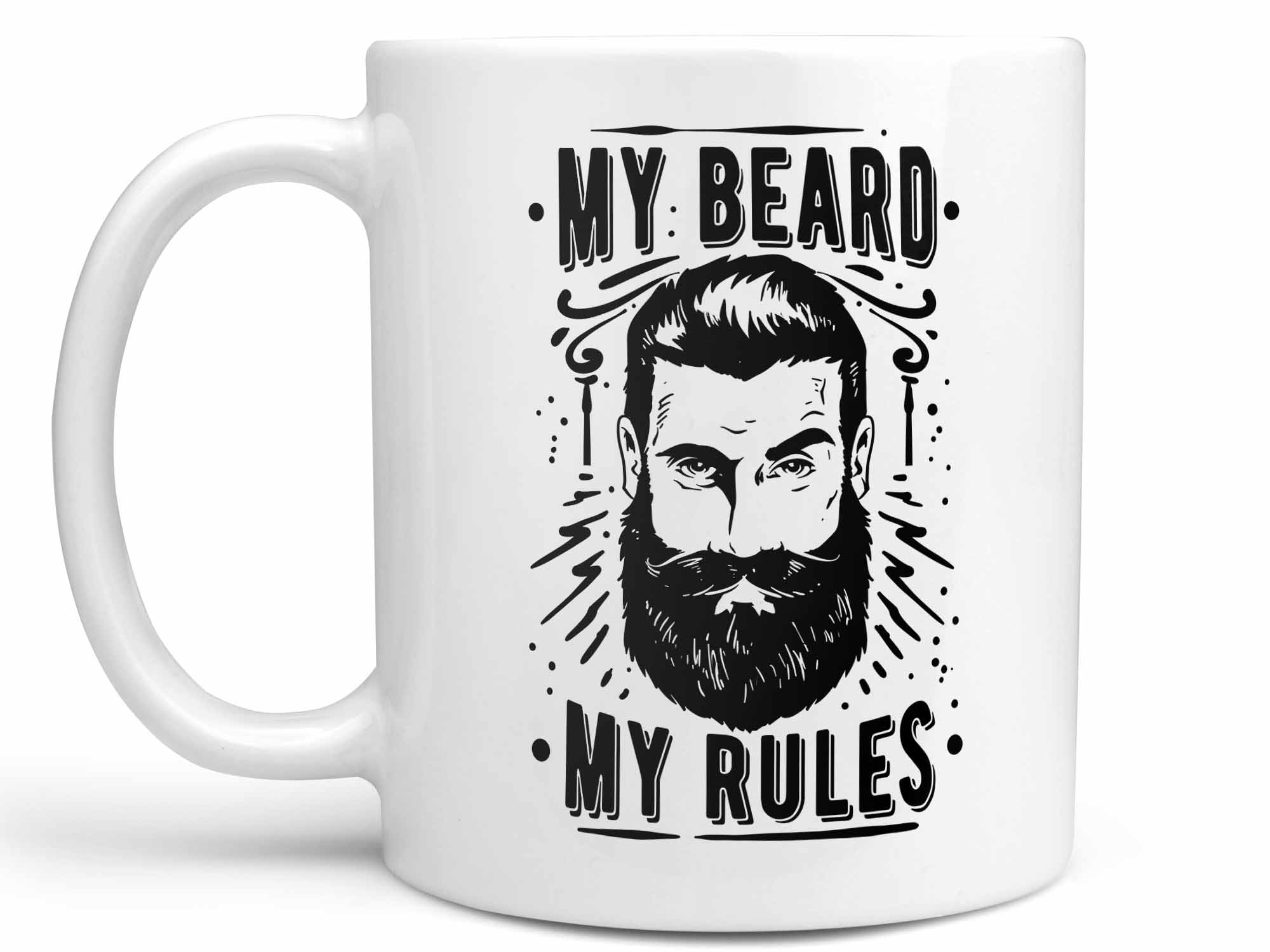 My Beard My Rules Coffee Mug,Coffee Mugs Never Lie,Coffee Mug