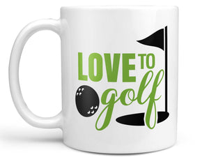 Love to Golf Coffee Mug,Coffee Mugs Never Lie,Coffee Mug