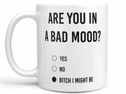 Are You in a Bad Mood Coffee Mug,Coffee Mugs Never Lie,Coffee Mug