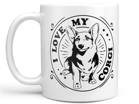 I Love My Corgi Coffee Mug,Coffee Mugs Never Lie,Coffee Mug