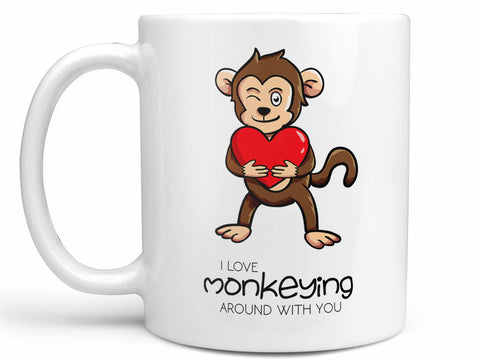 Monkeying Around Coffee Mug,Coffee Mugs Never Lie,Coffee Mug