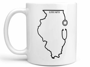 Illinois Nurse Coffee Mug