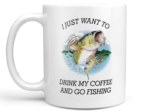 Coffee and Fishing Coffee Mug,Coffee Mugs Never Lie,Coffee Mug