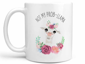 Not My Prob-Llama Coffee Mug