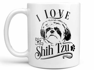 I Love My Shih Tzu Coffee Mug,Coffee Mugs Never Lie,Coffee Mug