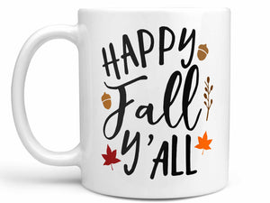 Happy Fall Y'all Coffee Mug,Coffee Mugs Never Lie,Coffee Mug