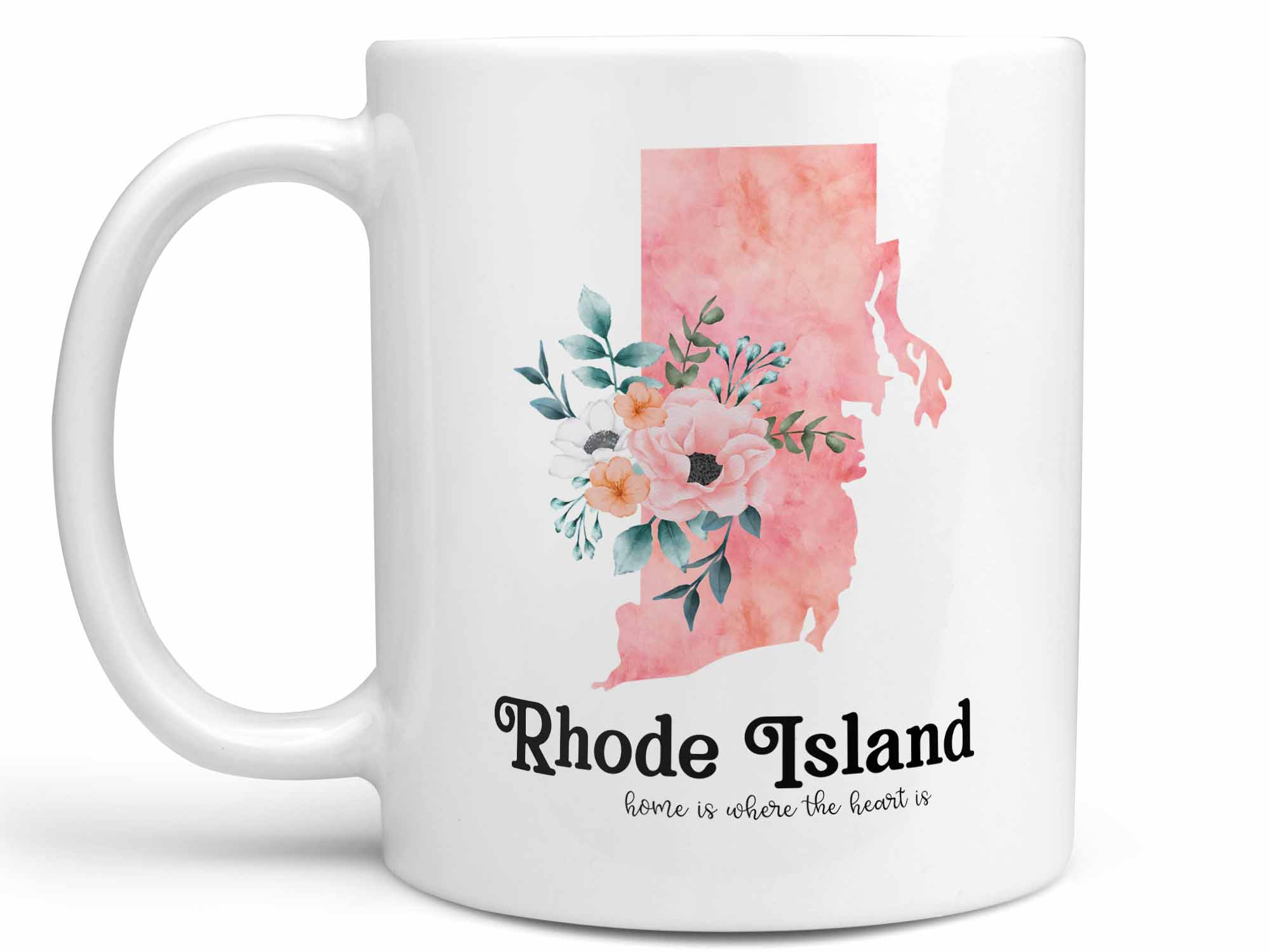 Rhode Island Home Coffee Mug,Coffee Mugs Never Lie,Coffee Mug