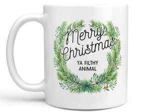 Filthy Animal Christmas Coffee Mug,Coffee Mugs Never Lie,Coffee Mug