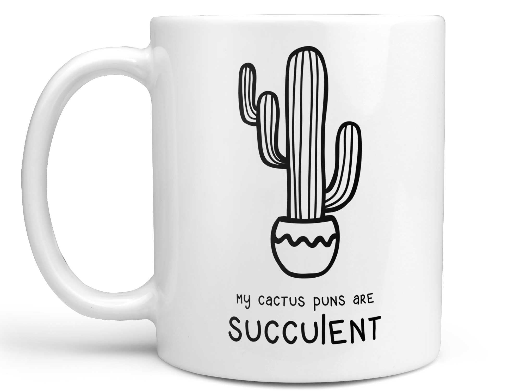 My Cactus Puns Coffee Mug