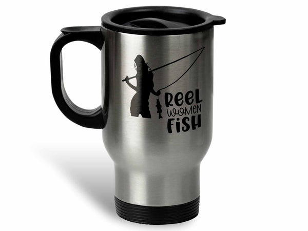 Reel Women Fish Pink Coffee Mug,Coffee Mugs Never Lie,Coffee Mug
