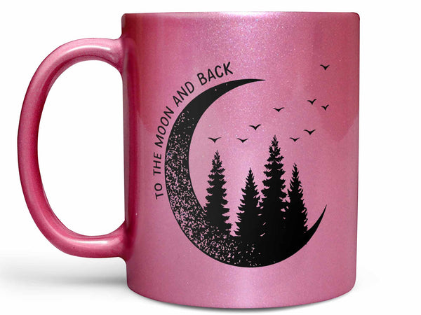 To the Moon and Back Coffee Mug