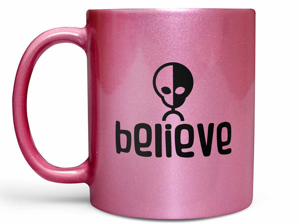 Believe Alien Coffee Mug