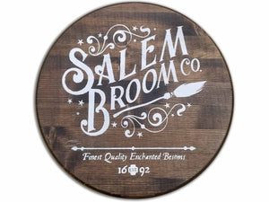 Salem Broom Co. Sign