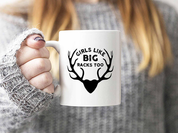 Big Racks Hunting Coffee Mug,Coffee Mugs Never Lie,Coffee Mug