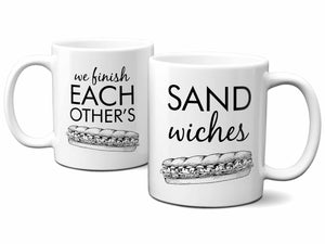 His and Hers Sandwiches Coffee Mugs,Coffee Mugs Never Lie,Coffee Mug