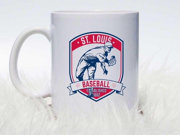 St. Louis Pitcher Coffee Mug,Coffee Mugs Never Lie,Coffee Mug