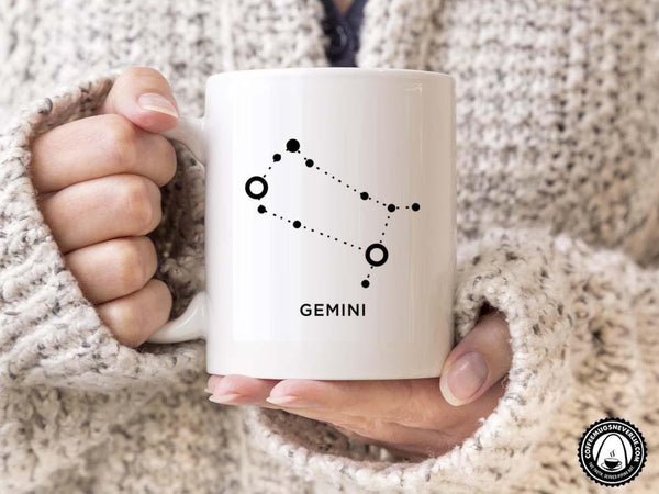 Gemini Constellation Coffee Mug,Coffee Mugs Never Lie,Coffee Mug